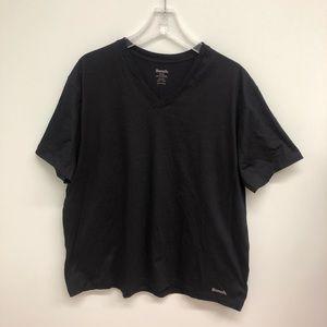Bench   Men's Black V-Neck Shirt   Size XL
